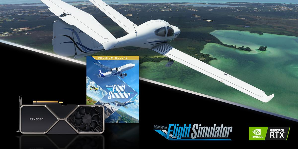 microsoft flight simulator dobla el rendimiento con geforce rtx 30 series 1