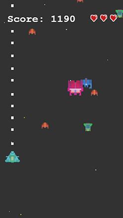 Space Invaders Navidad