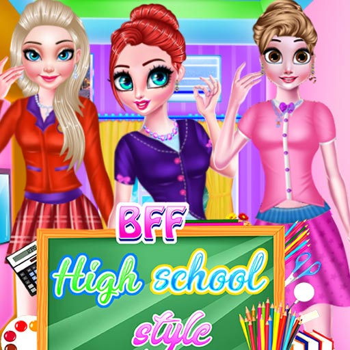 BFF High school style
