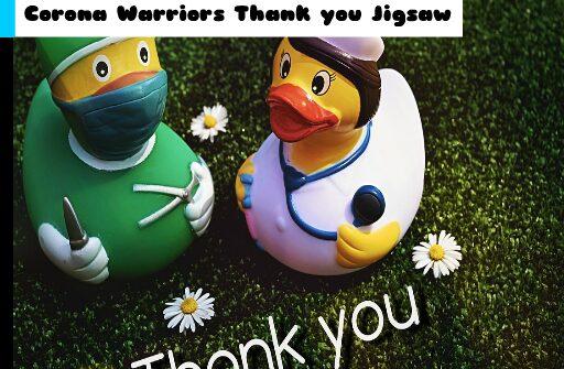 corona warriors thank you jigsaw