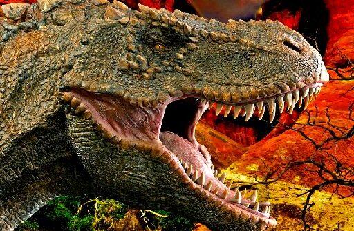 t rex dinosaur jigsaw