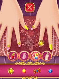 Nail Salon – Marie's Girl Games